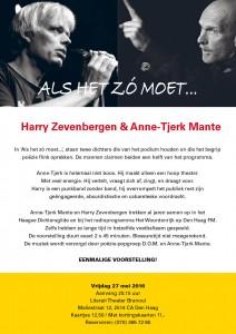 Theater Branoul, Den Haag, vrijdag 27 mei 2016, 20.15 uur; 12,50 / 11,00