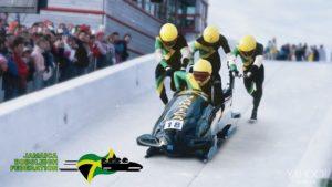 Het eerste Jamaicaanse Olympische bobslee team